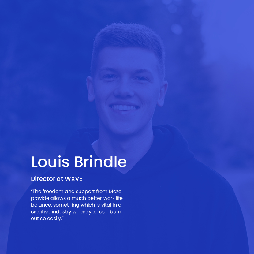 Louis Brindle of WXVE text
